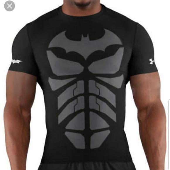 ekskluzywny asortyment dostępność w Wielkiej Brytanii przystojny Under armour compression shirt alter ego batman
